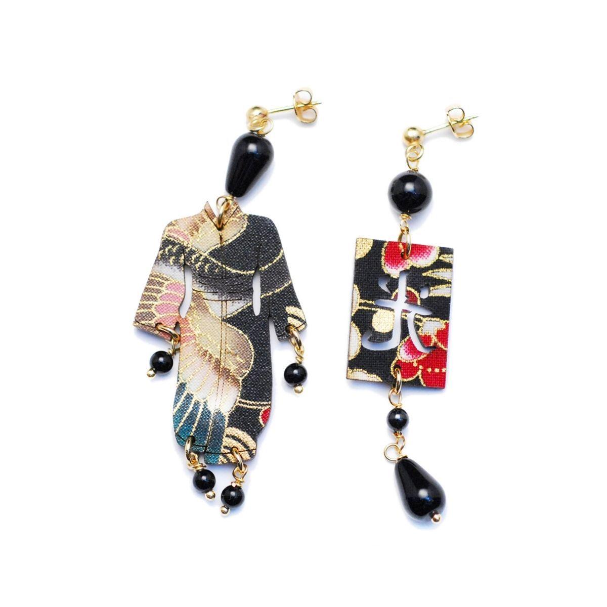 lebole-orecchini-kimono-nero