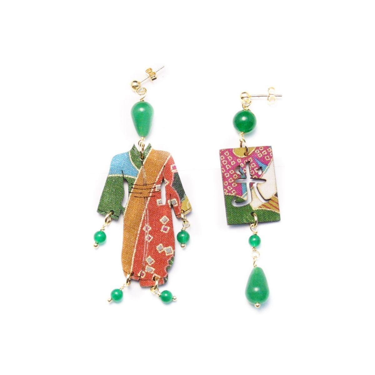 lebole-orecchini-kimono-verde
